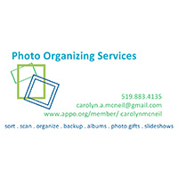 Photo Organizing Services - Carolyn McNeil