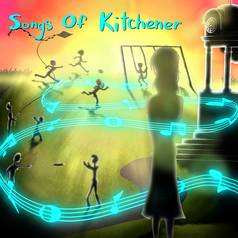 Songs of Kitchener Album Cover Proposal