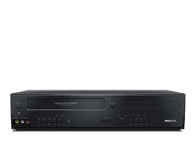 IMAGE: Philips DVD/VCR Dual Player