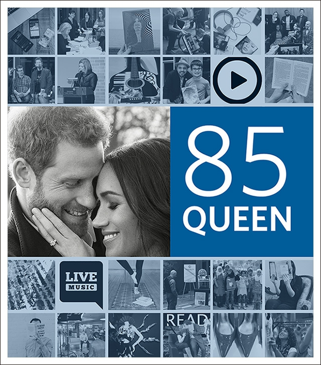 IMAGE: Watch the Royal Wedding at the Library
