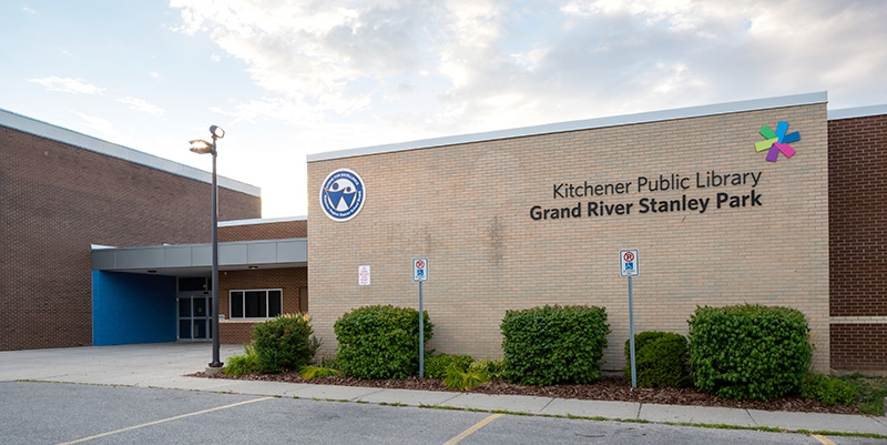 Image: Grand River Stanley Park Community Library