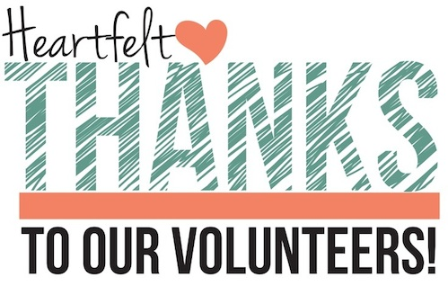 IMAGE: A Heartfelt Thanks to Our Volunteers